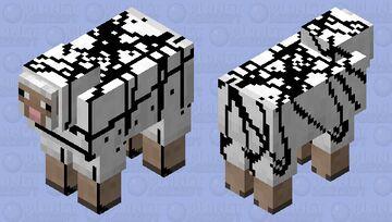 Chocolate Syrup Sheep Minecraft Mob Skin