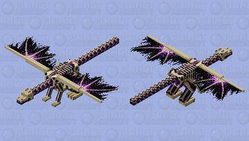 Skin de armadura de dragon Minecraft Mob Skin