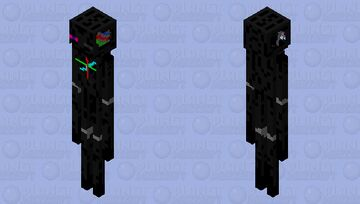 Animatronic Enderman Minecraft Mob Skin