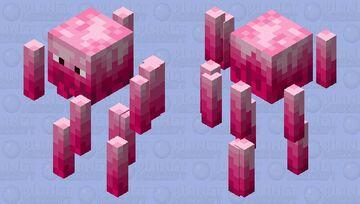 Cute pink/violet Blaze Minecraft Mob Skin
