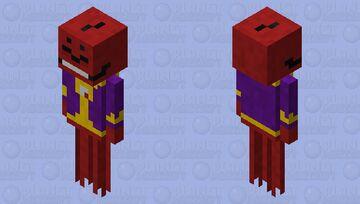 Spiny Skull Minecraft Mob Skin