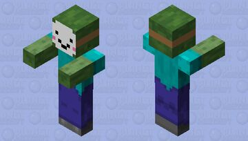 Who's Zombie? Derp or a noob? Minecraft Mob Skin