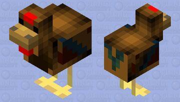 Day #3 of making mob skins every day until school starts: Island of Glandia - Chicken Minecraft Mob Skin