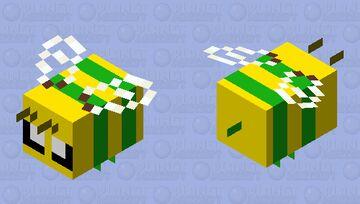 Nature Bee Minecraft Mob Skin