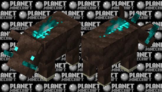 Soul sand valley hoglin Minecraft Skin
