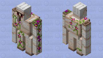 Flower Golem! Minecraft Mob Skin