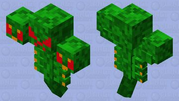 Nature Wither Minecraft Mob Skin