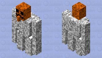 buff snow golem Minecraft Mob Skin