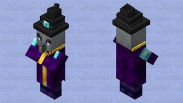 Illusioner Inspired Witch Minecraft Mob Skin