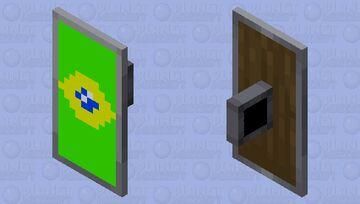 Escudo do Brasil Minecraft Mob Skin