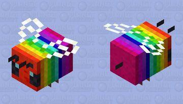 Rainbee Minecraft Mob Skin