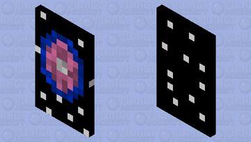 Galactic cape Minecraft Mob Skin