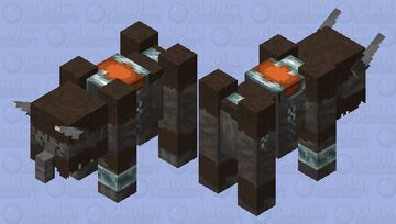 Wooly Mammoth Minecraft Mob Skin