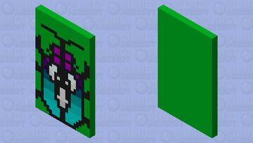 Beetle Cape Minecraft Mob Skin