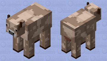 Chocolate Milky Cow Minecraft Mob Skin