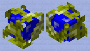 Blue sphere from sonic but electrized Minecraft Mob Skin