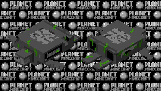 Destroyed Skeld Minecraft Skin