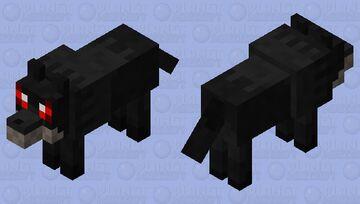 Scared Wolf (𝕱𝖔𝖗𝖇𝖎𝖉𝖉𝖊𝖓 𝕾𝖔𝖚𝖑𝖘) Minecraft Mob Skin