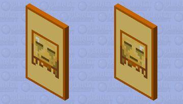 Ghast Totem Minecraft Mob Skin