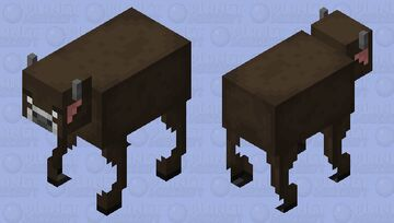 Better Cow / more realistic / ver.2 Minecraft Mob Skin