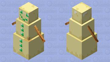 Snow Golem of Undying Minecraft Mob Skin