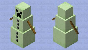 Creeper snow golem Minecraft Mob Skin