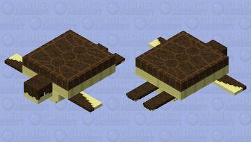 Turtle Retextured HD Minecraft Mob Skin