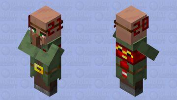 Nitwit said happy new year Minecraft Mob Skin
