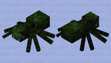 Jungle Spider Minecraft Mob Skin