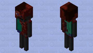 """""""Esqueleto carbonizado """" Minecraft Mob Skin"""