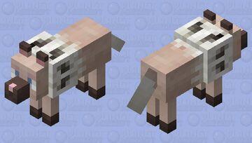 Rockruff (wolf) Minecraft Mob Skin