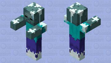 Frozen Zombie (minecraft dungeons) Minecraft Mob Skin