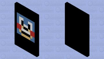 sonic cape :3 Minecraft Mob Skin