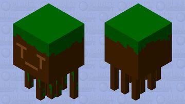 Grass Ghast Minecraft Mob Skin