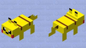 Pikachu mc skin update Minecraft Mob Skin