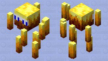 EDM-Blaze Minecraft Mob Skin