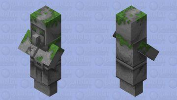 Stone Village Statue Minecraft Mob Skin