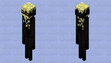 Another skin For Endermen Because they all look the same 1st Enderman skin in my collection. Minecraft Mob Skin
