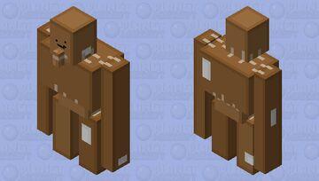 Cardboard Golem Minecraft Mob Skin