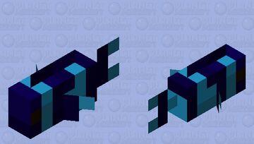 Sculk fish 2 Minecraft Mob Skin