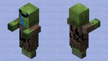 derpy zombie villager Minecraft Mob Skin