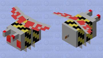 Buzz Bot 3000 Minecraft Mob Skin