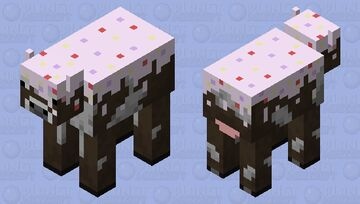 CakeCow Minecraft Mob Skin