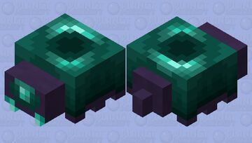 Ender-Pearl_mite / variant of Endermite /of the End Minecraft Mob Skin