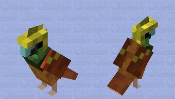 Raggiana Bird-of-Paradise Minecraft Mob Skin