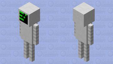droid warrior Minecraft Mob Skin