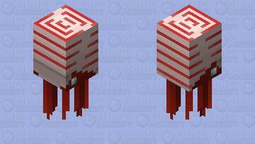 Cameroceras (Cambrian) Minecraft Mob Skin