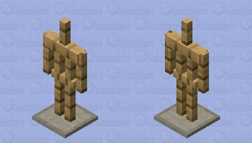 ♥ Oak Armor Stand ♥ Minecraft Mob Skin