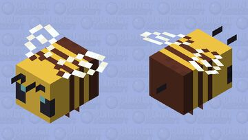 Oversimplified  Bee Minecraft Mob Skin