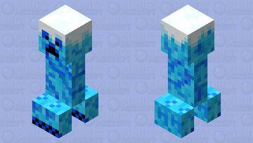 Frost Creeper Minecraft Mob Skin